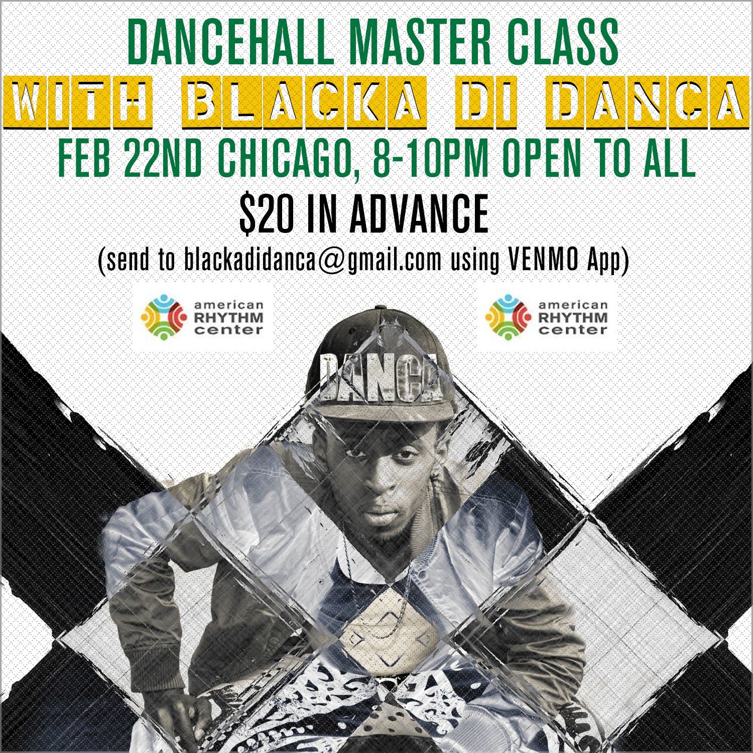 LadySolPresents: Blacka Di Danca in Chicago!!