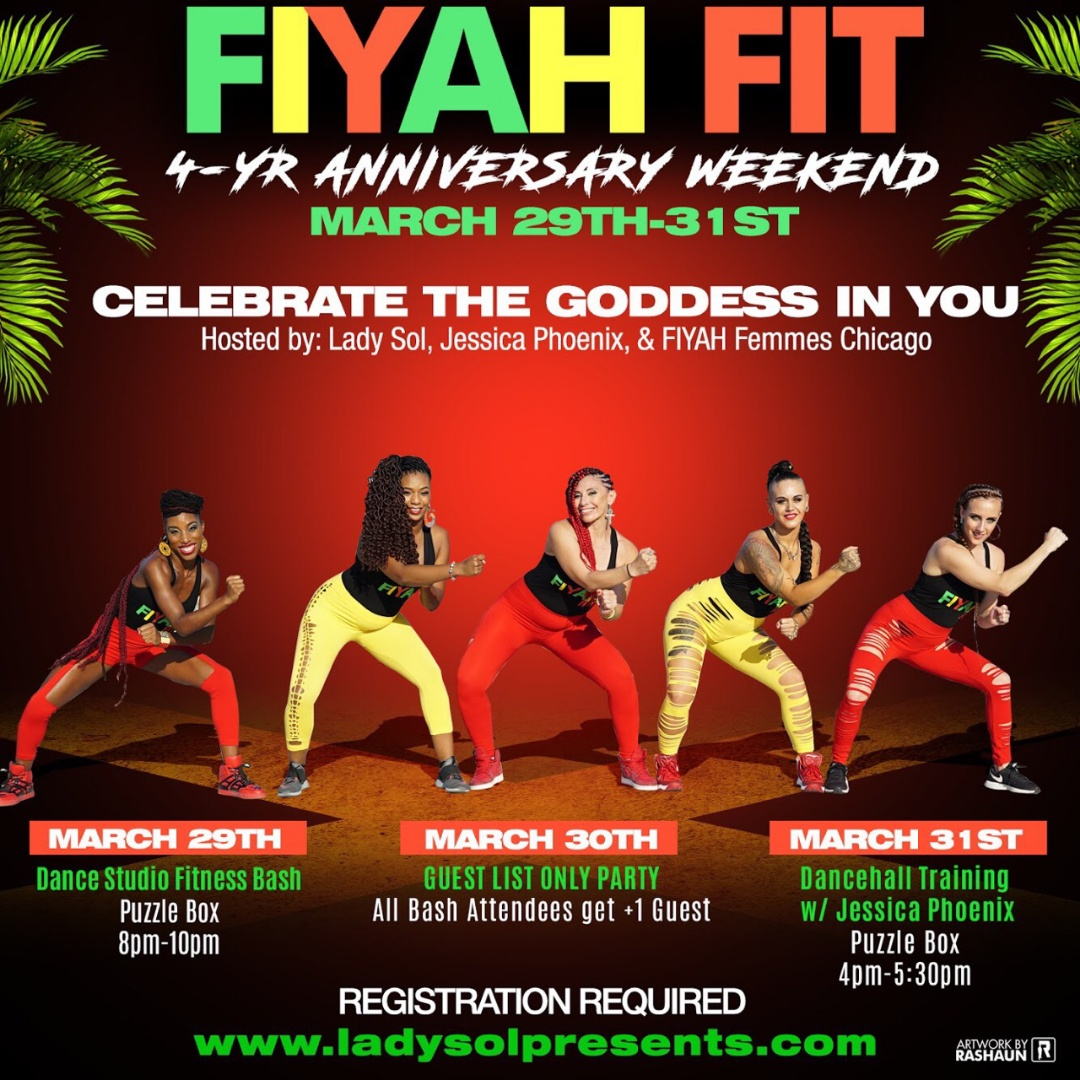 Fiyah Fit 4 Year Anniversary Weekend