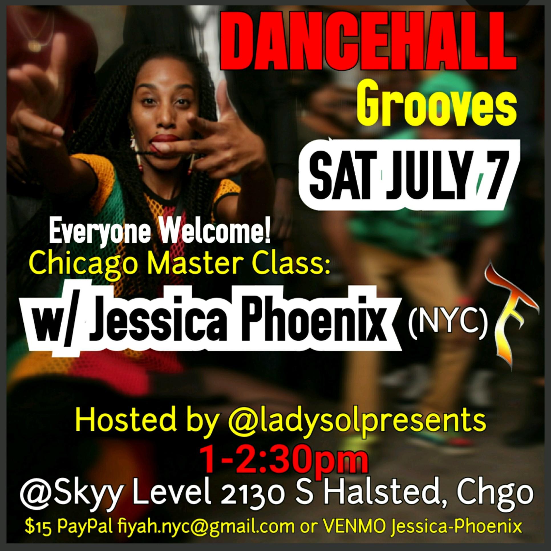 DANCEHALL Grooves w. JESSICA PHOENIX