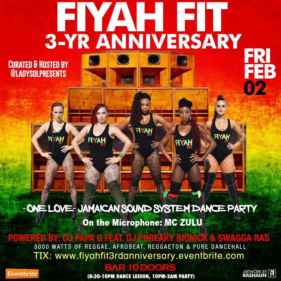 FIYAH Fit 3 yr. Anniversary – Celebration